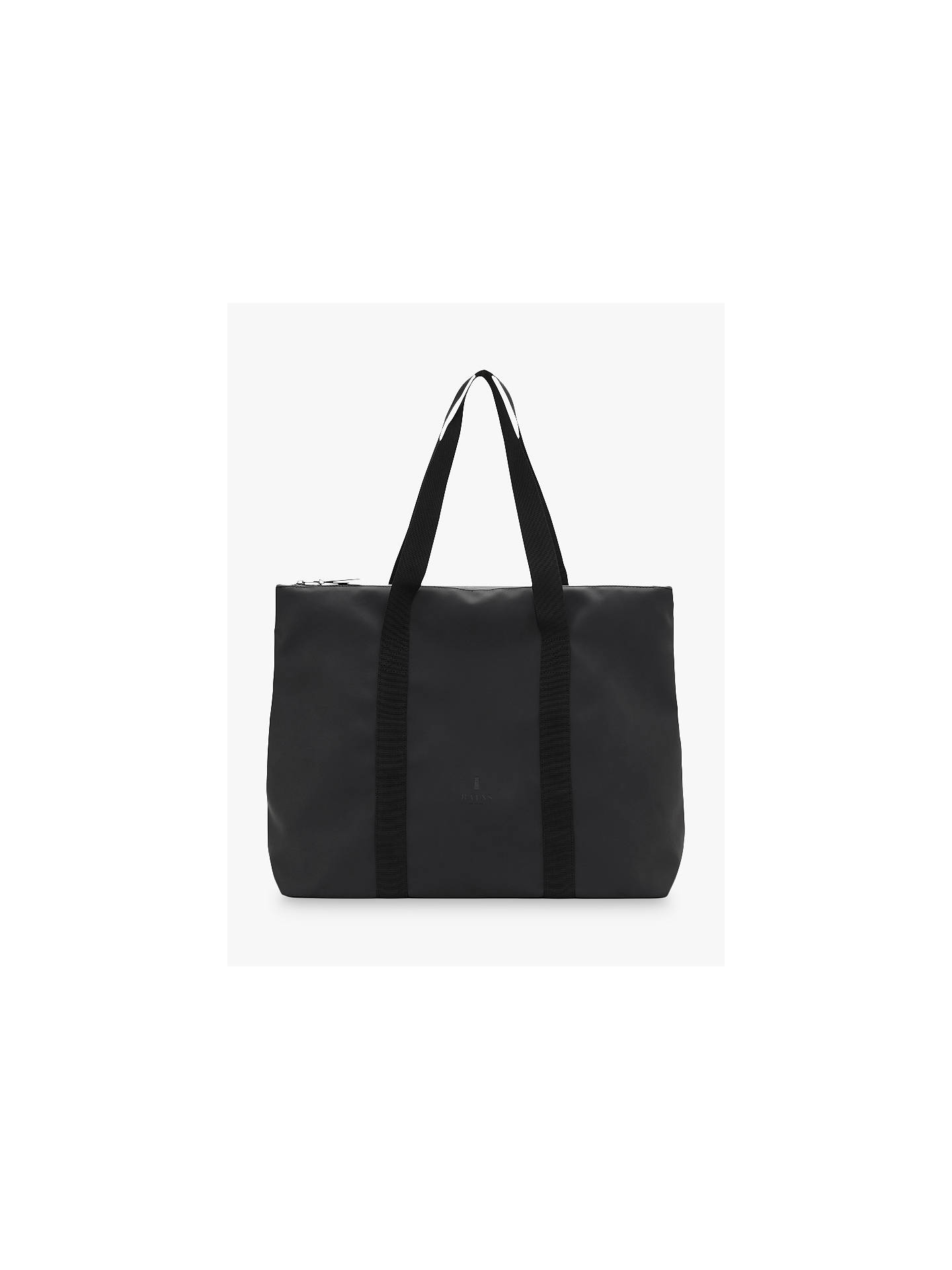 1dc6173e3f8 BuyRains City Water Resistant Tote Bag, Black Online at johnlewis.com ...