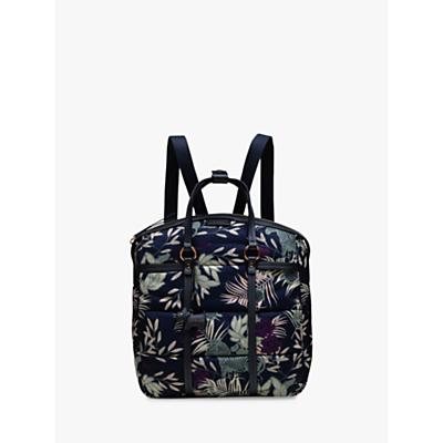 Radley Longleat Palms Backpack, Blue/Multi