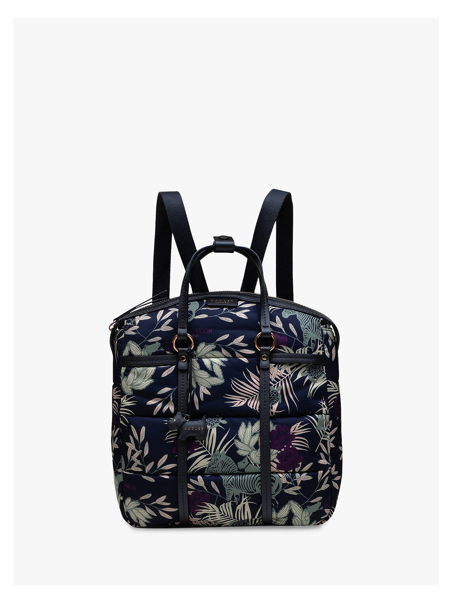 8c68dad4f1 Buy Radley Longleat Palms Backpack