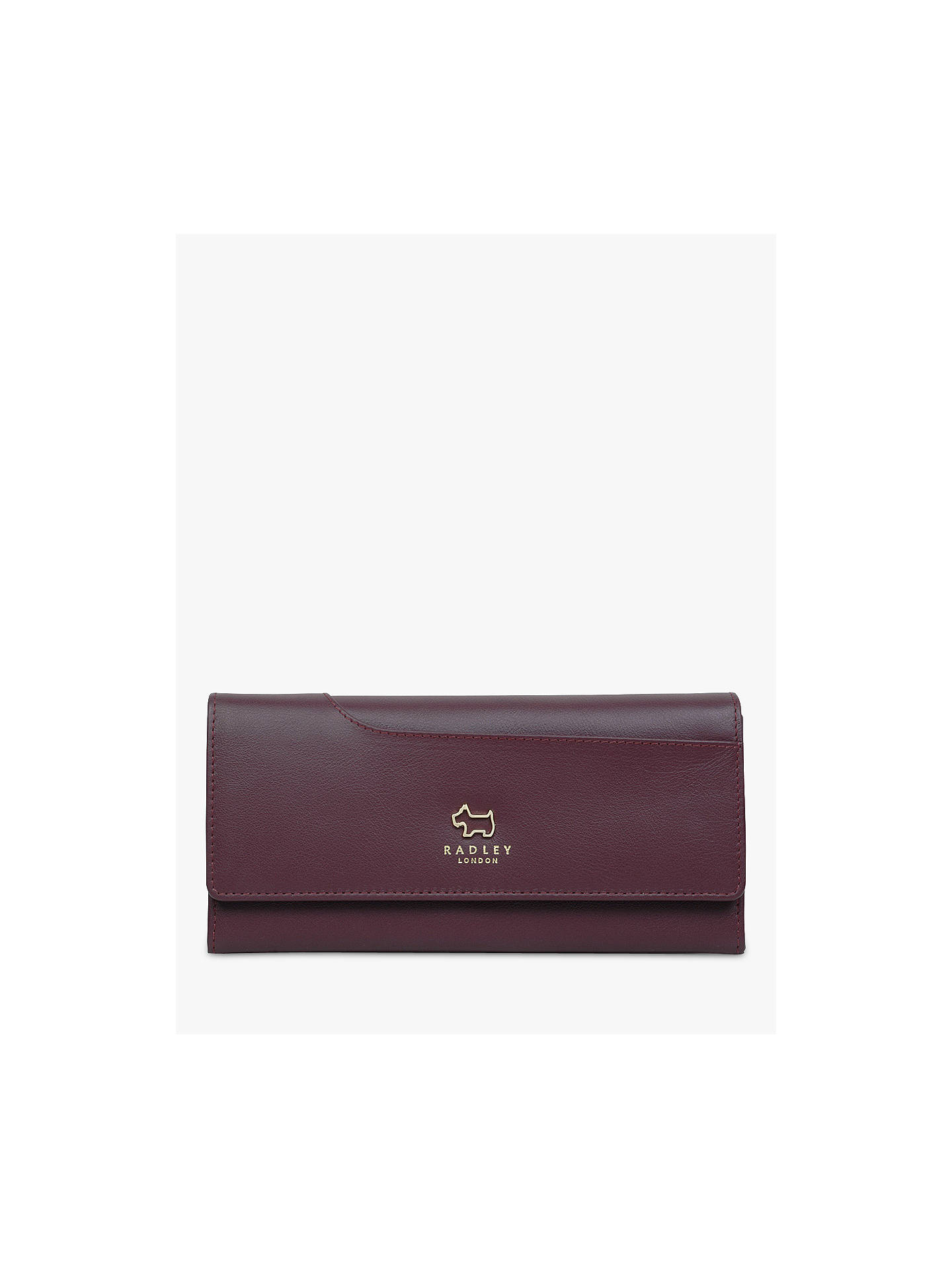 Buy Radley Pockets Leather Large Matinee Purse, Red Online at johnlewis.com