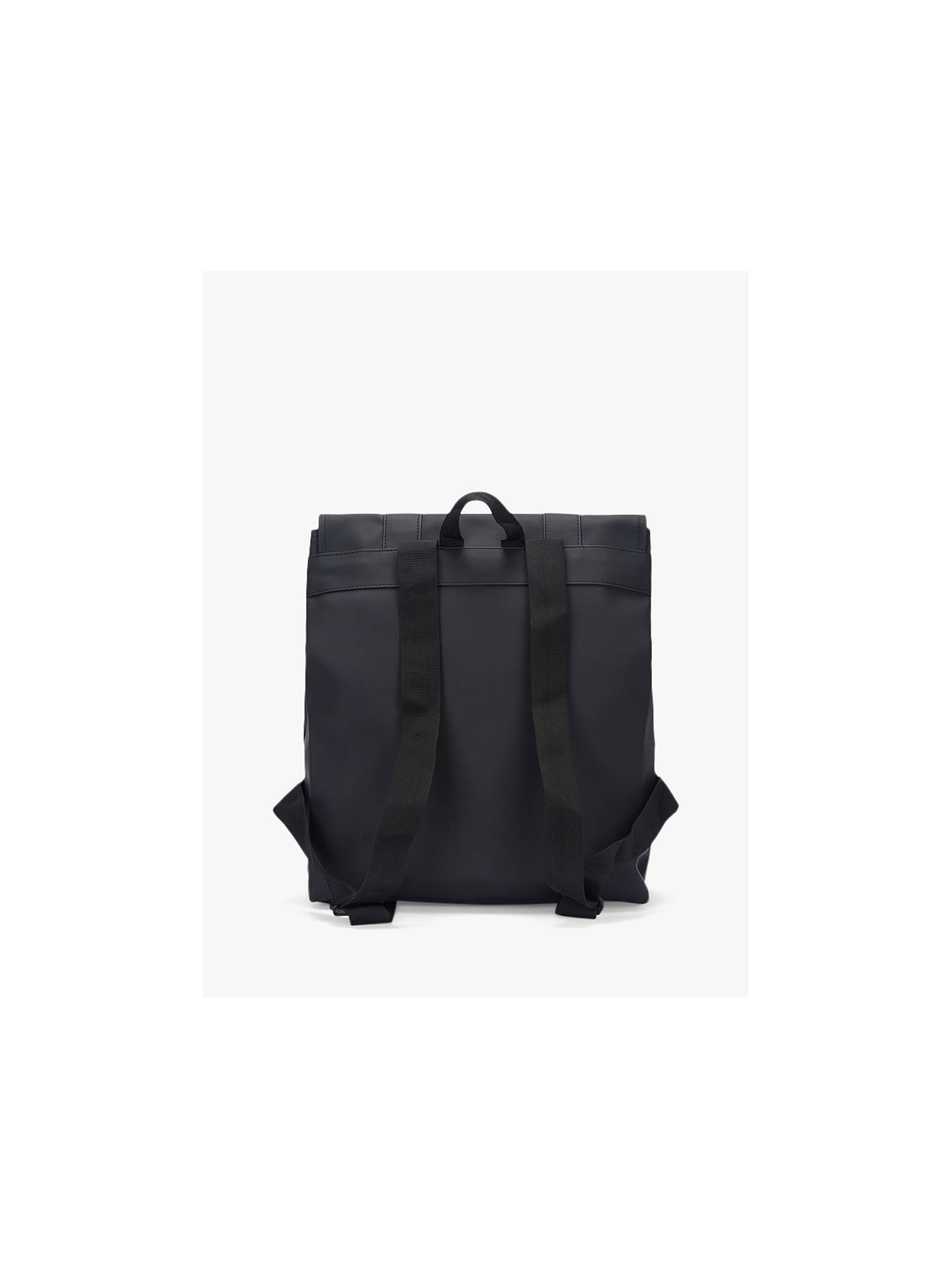 BuyRains MSN Water Resistant Backpack, Black Online at johnlewis.com