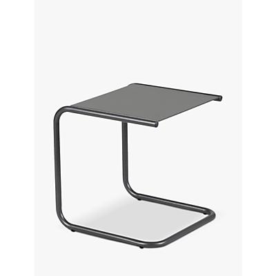 Fiam Club Side Table, Graphite