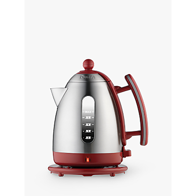Dualit 1.5L Rapid Boil Lite Jug Kettle, Red