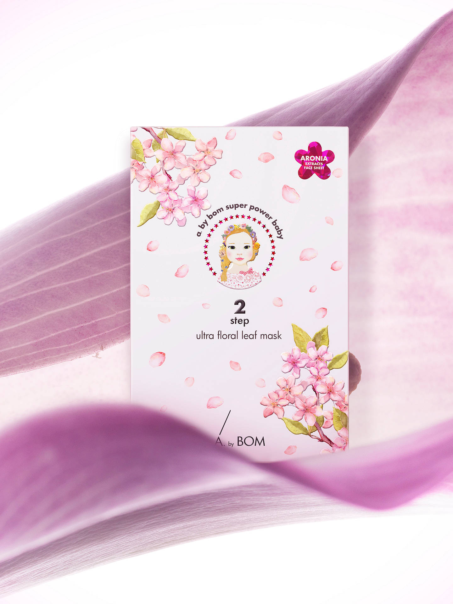 Buy A. by BOM 2-Step Ultra Floral Leaf Face Mask Online at johnlewis.com