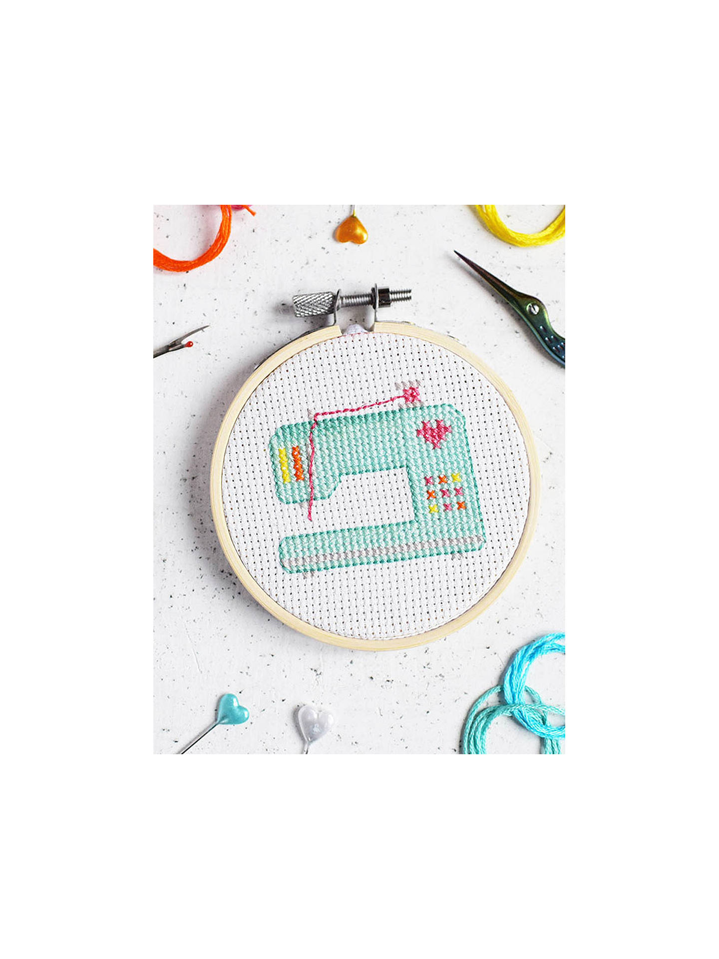 BuyThe Make Arcade Sewing Machine Cross Stitch Kit Online at johnlewis.com