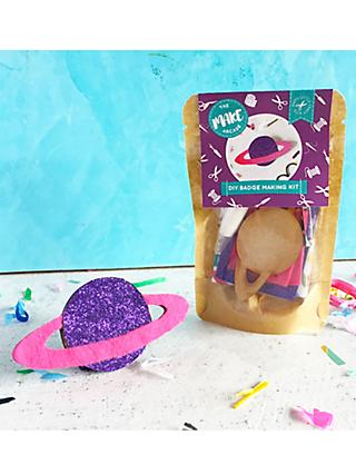 The Make Arcade Sew Your Own Felt Planet Craft Kit