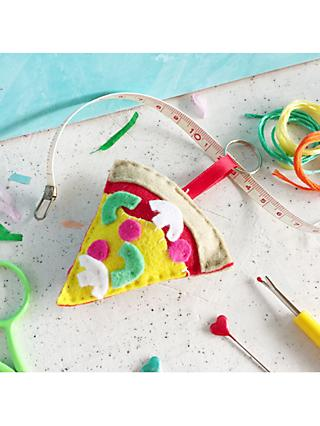 The Make Arcade Sew Your Own Felt Pizza Craft Kit