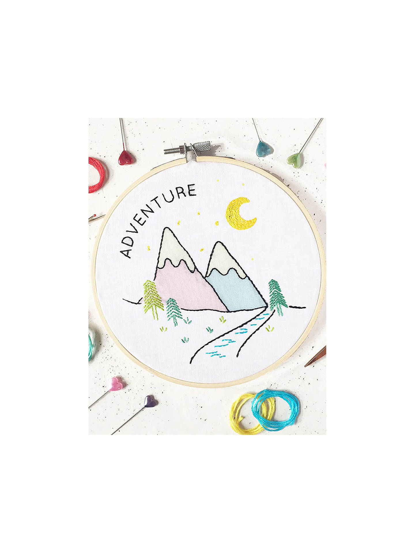 Buy The Make Arcade Adventure Embroidery Kit Online at johnlewis.com
