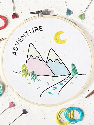 The Make Arcade Adventure Embroidery Kit