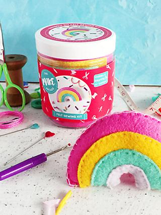 The Make Arcade Sew Your Own Felt Rainbow Craft Kit