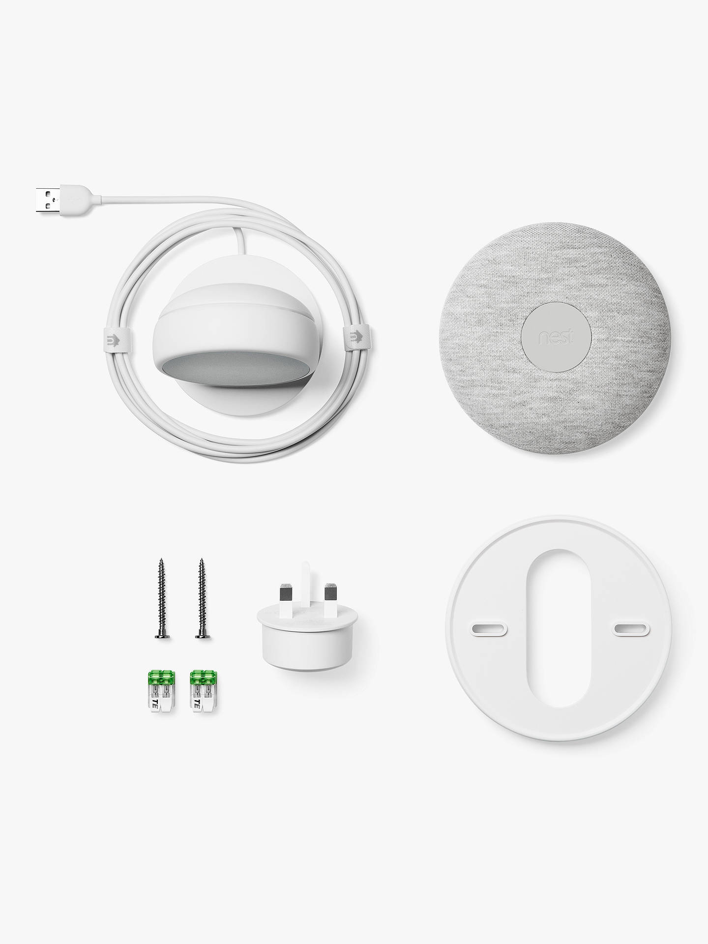 Google Nest Thermostat E White At John Lewis Partners