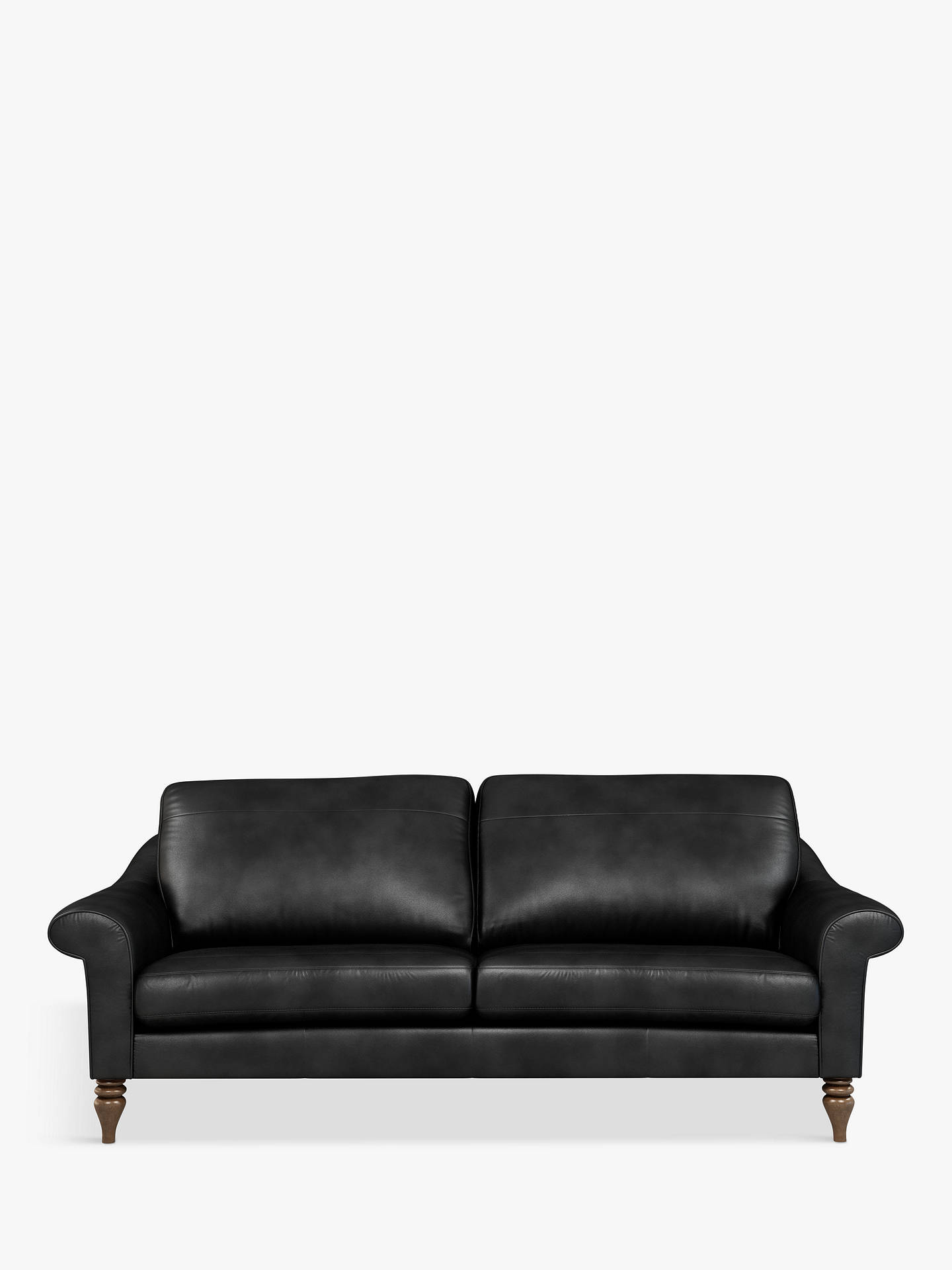 Prime John Lewis Partners Camber Grand 4 Seater Leather Sofa Dark Leg Contempo Black Uwap Interior Chair Design Uwaporg