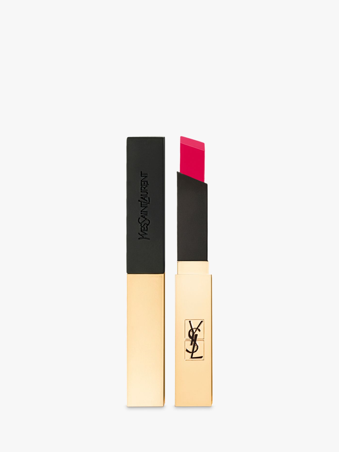 Buy Yves Saint Laurent Rouge Pur Couture The Slim Lipstick, 14 Rose Curieux Online at johnlewis.com