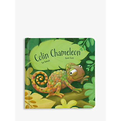 Product photo of Jellycat colin the chameleon book