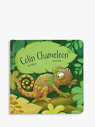 b0ea602a84 Jellycat Colin The Chameleon Book