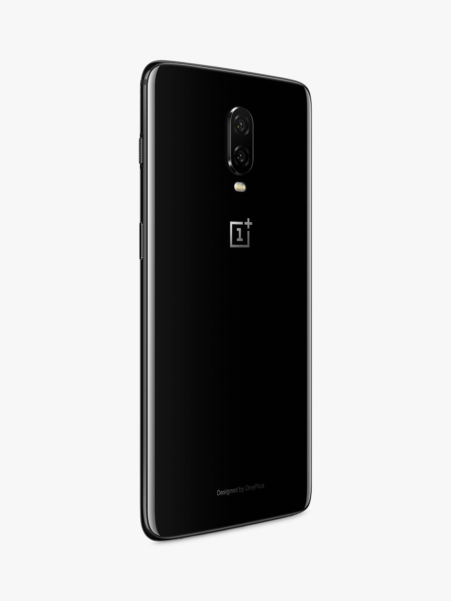 "OnePlus 6T Smartphone, Android, 6 41"", 4G LTE, SIM Free, 8GB RAM, 128GB,  Mirror Black"