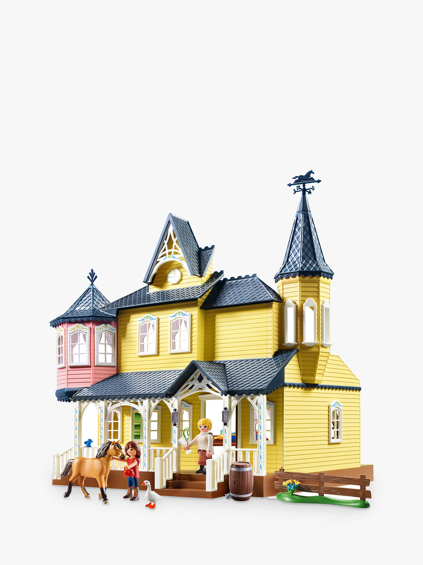 Playmobil Dreamworks Spirit Riding Free Lucky/'s Happy Home Playset 9475 NEW
