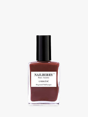BuyNailberry L'Oxygéné Oxygenated Nail Lacquer, Dial for M for Maroon Online at johnlewis.com