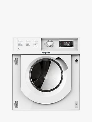 Hotpoint WMHG71484UK Integrated Washing Machine, 7kg Load, 1400rpm, A+++ Energy Rating, White