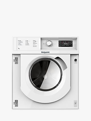 Hotpoint WMHG71284UK Integrated Washing Machine, 7kg Load, 1200rpm, A+++ Energy Rating, White