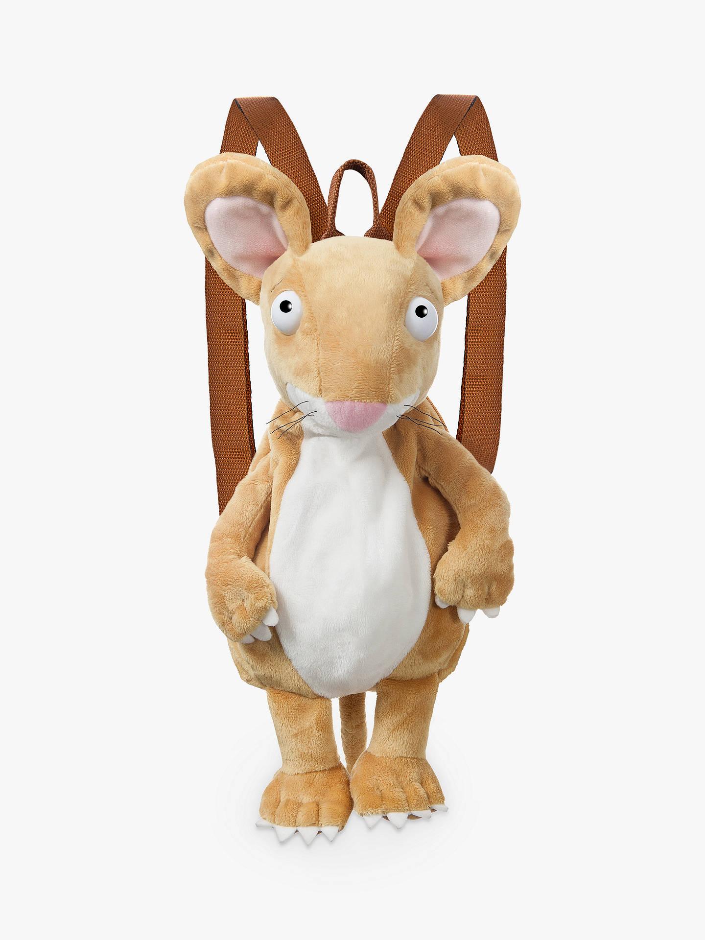 d28af600bf Buy The Gruffalo Mouse Soft Toy Backpack Online at johnlewis.com