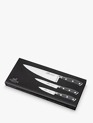 Sabatier YSIS Stainless Steel Knife Set, 3 Piece