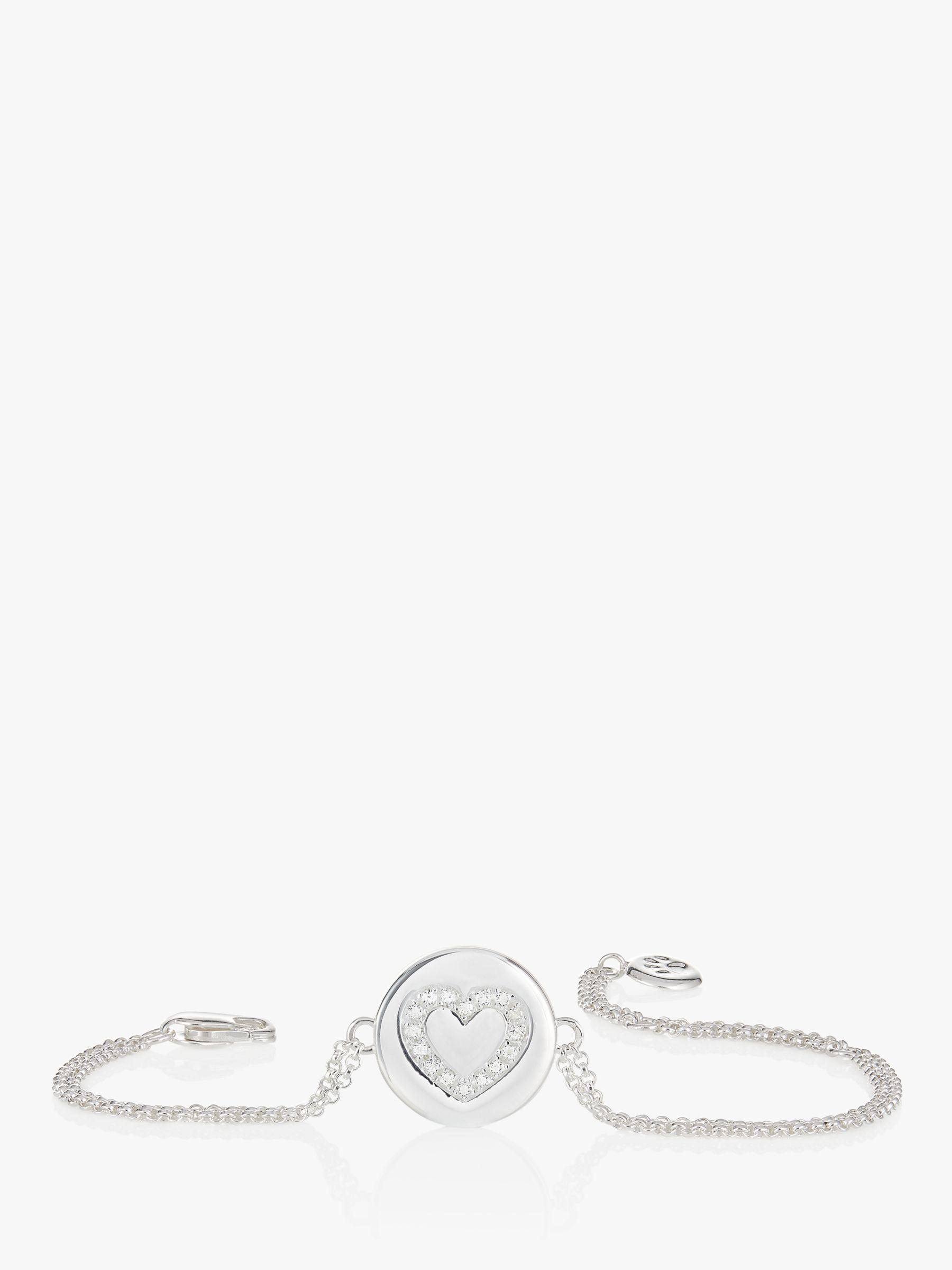 Molly Brown London Sterling Silver Angel of Mine Heart Bracelet