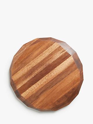 83e2b8c3810 John Lewis   Partners Acacia Wood Facet Cheese Board