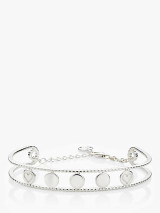 Molly Brown London Sterling Silver Her World Bangle