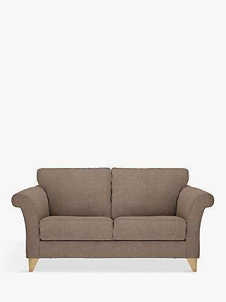 John Lewis & Partners Charlotte Medium 2 Seater Sofa, Light Leg, Dylan Natural