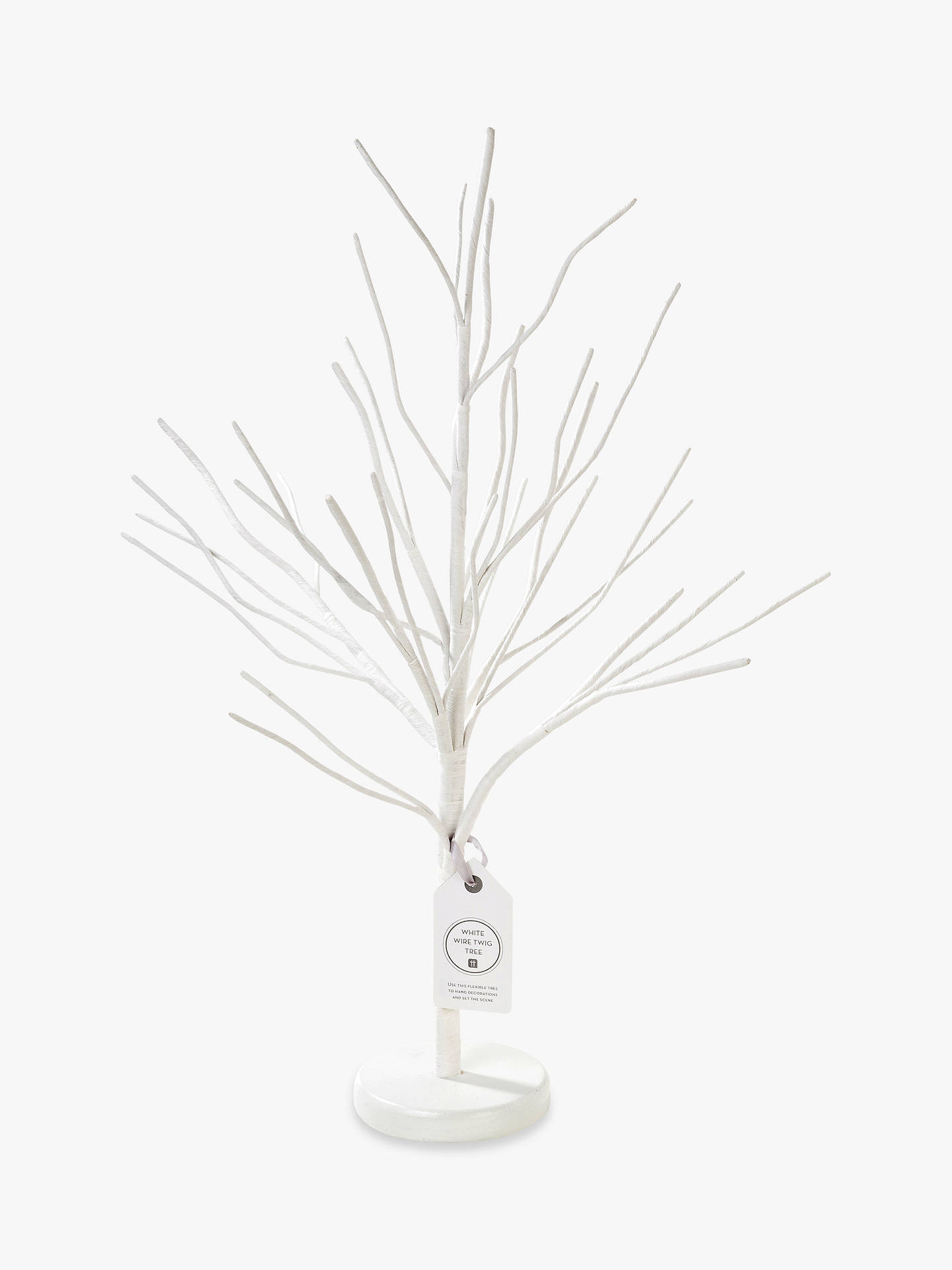 Talking Tables Decorative Easter Tree, White by Talking Tables