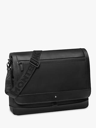 dc1113123b Montblanc Nightflight Leather Messenger Bag