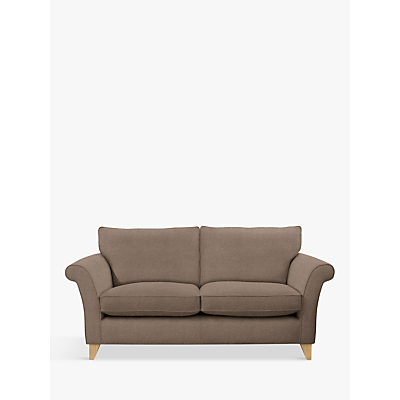 John Lewis & Partners Charlotte Large 3 Seater Sofa, Light Leg, Dylan Natural