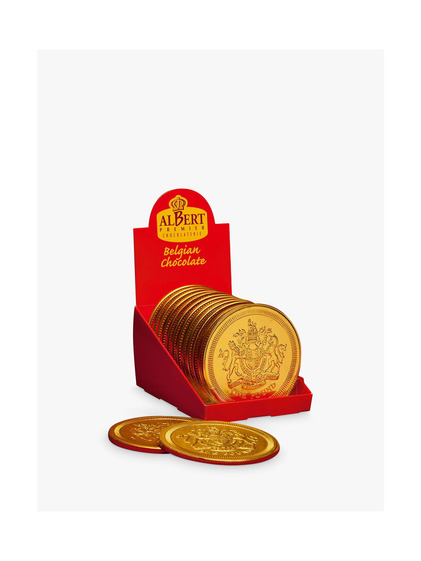 BuySingle Giant Chocolate Pound Coin, 90g Online at johnlewis.com