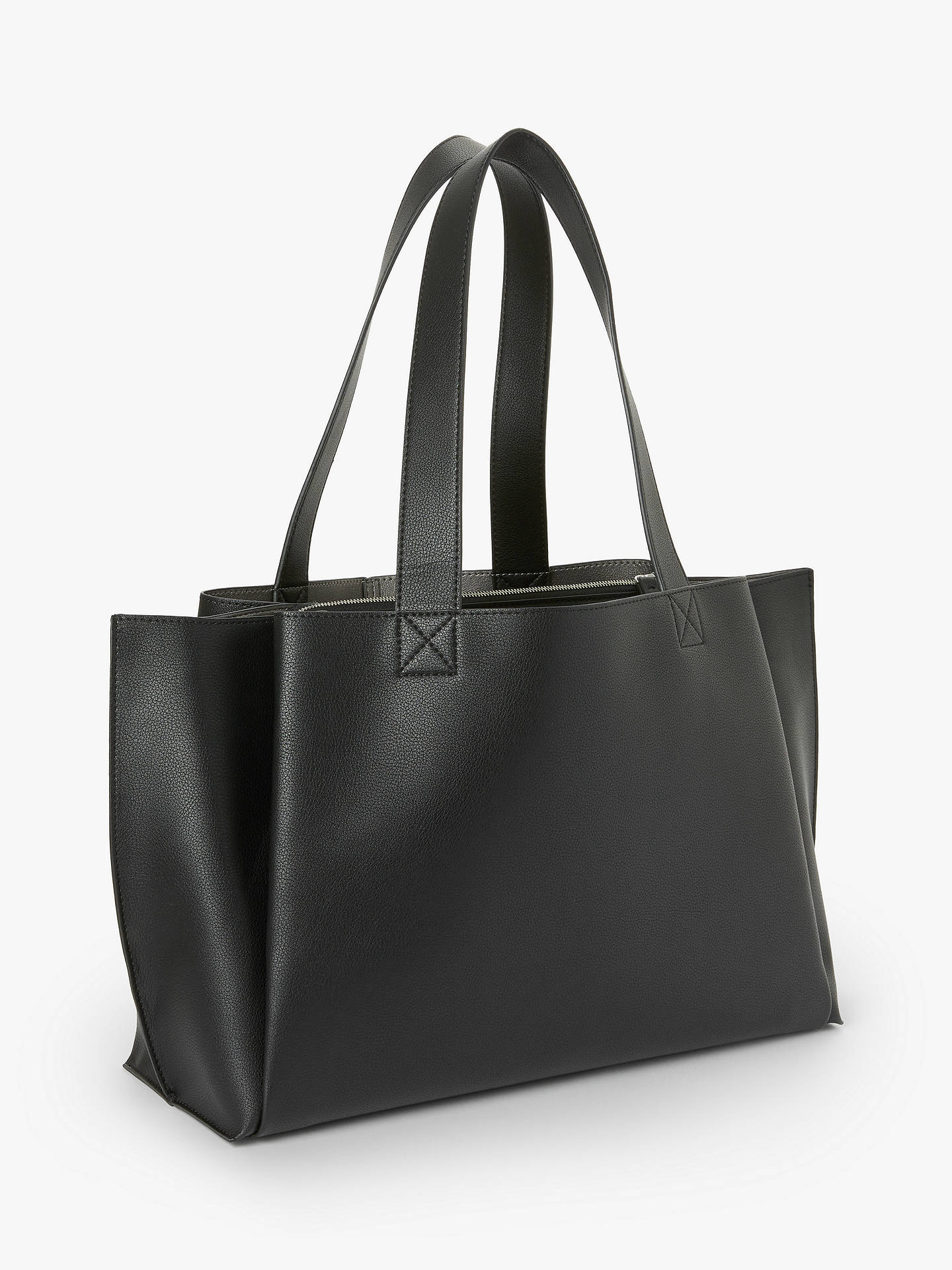 Kin Rin Work Tote Bag Black
