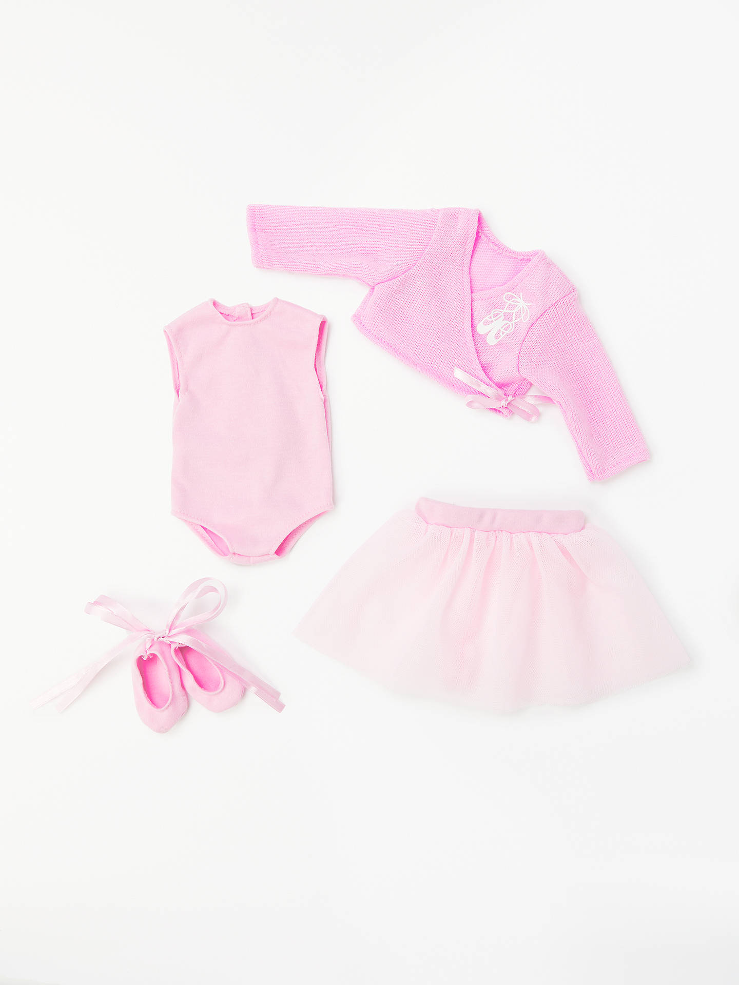 BuyJohn Lewis & Partners Collector's Doll Ballet Outfit Online at johnlewis.com