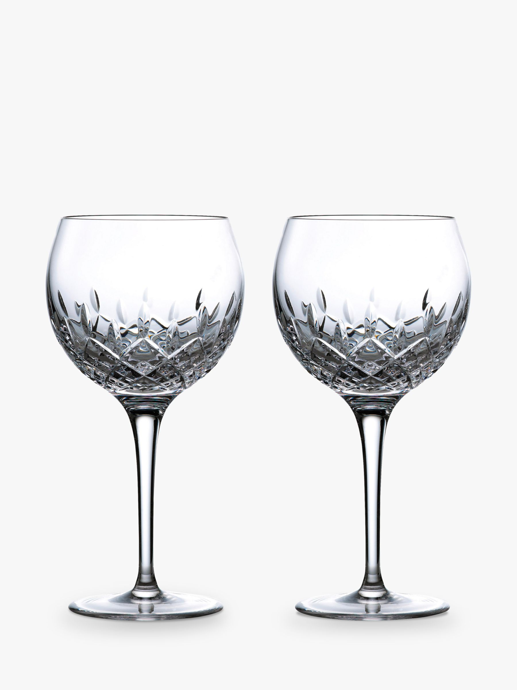 Royal Doulton Royal Doulton R&D Collection Highclere Crystal Gin Glasses, Set of 2, 560ml, Clear