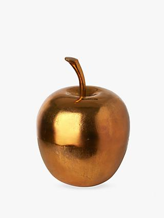 Pols Potten Apple Moneybox, Gold