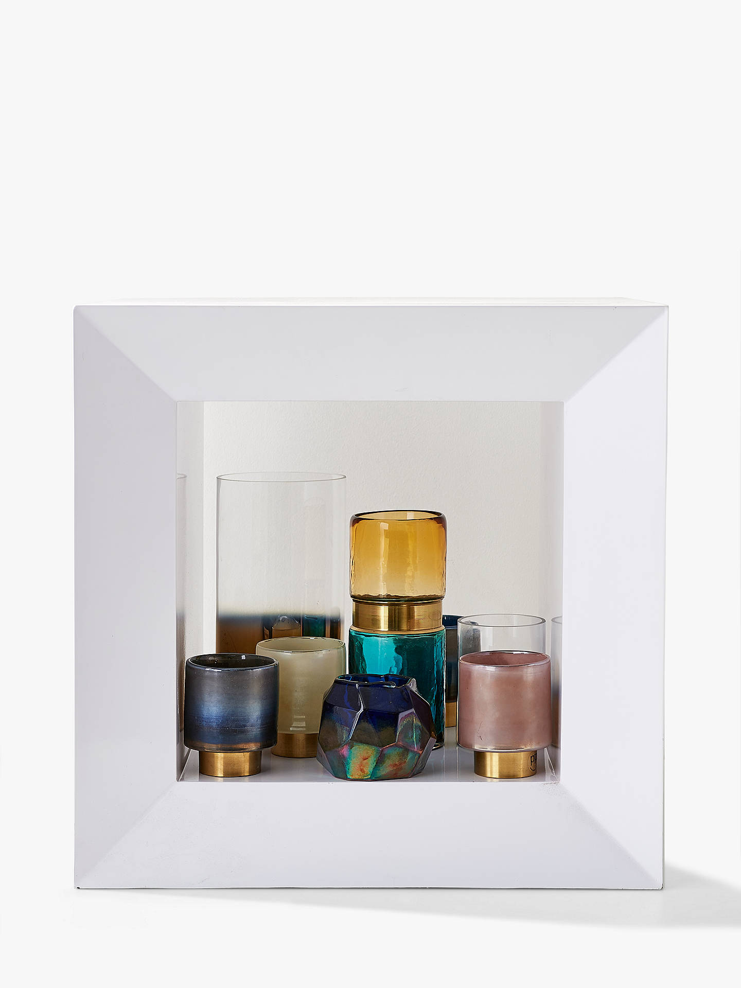 Buy Pols Potten Belt Vase Aqua/Gold Online at johnlewis.com