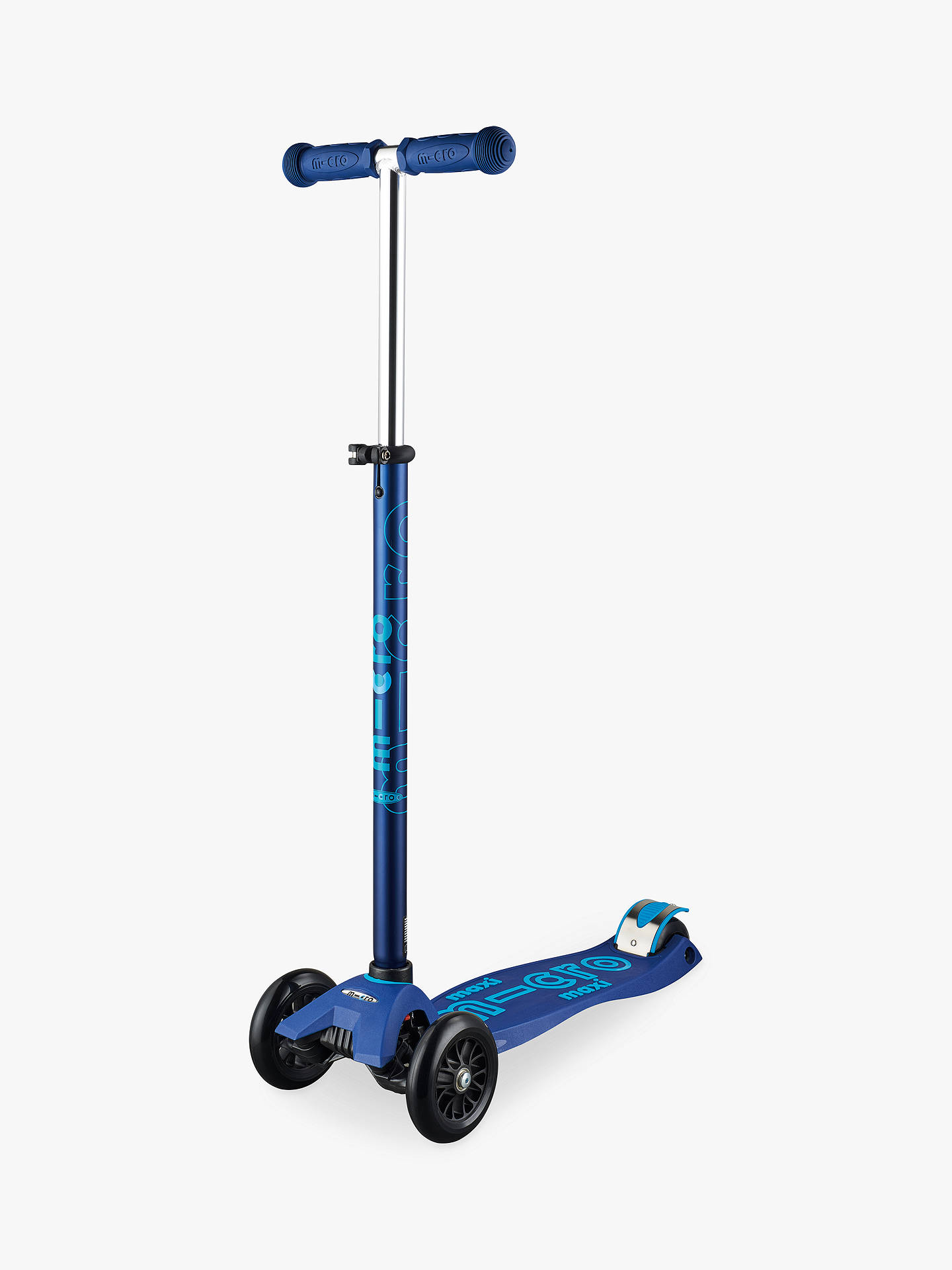 Buy Maxi Micro Deluxe Scooter, 5-12 years, Dark Blue Online at johnlewis.com