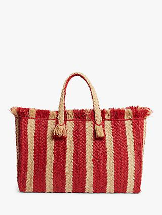 16f9da57c6 John Lewis   Partners St Tropez Stripe Tote Bag