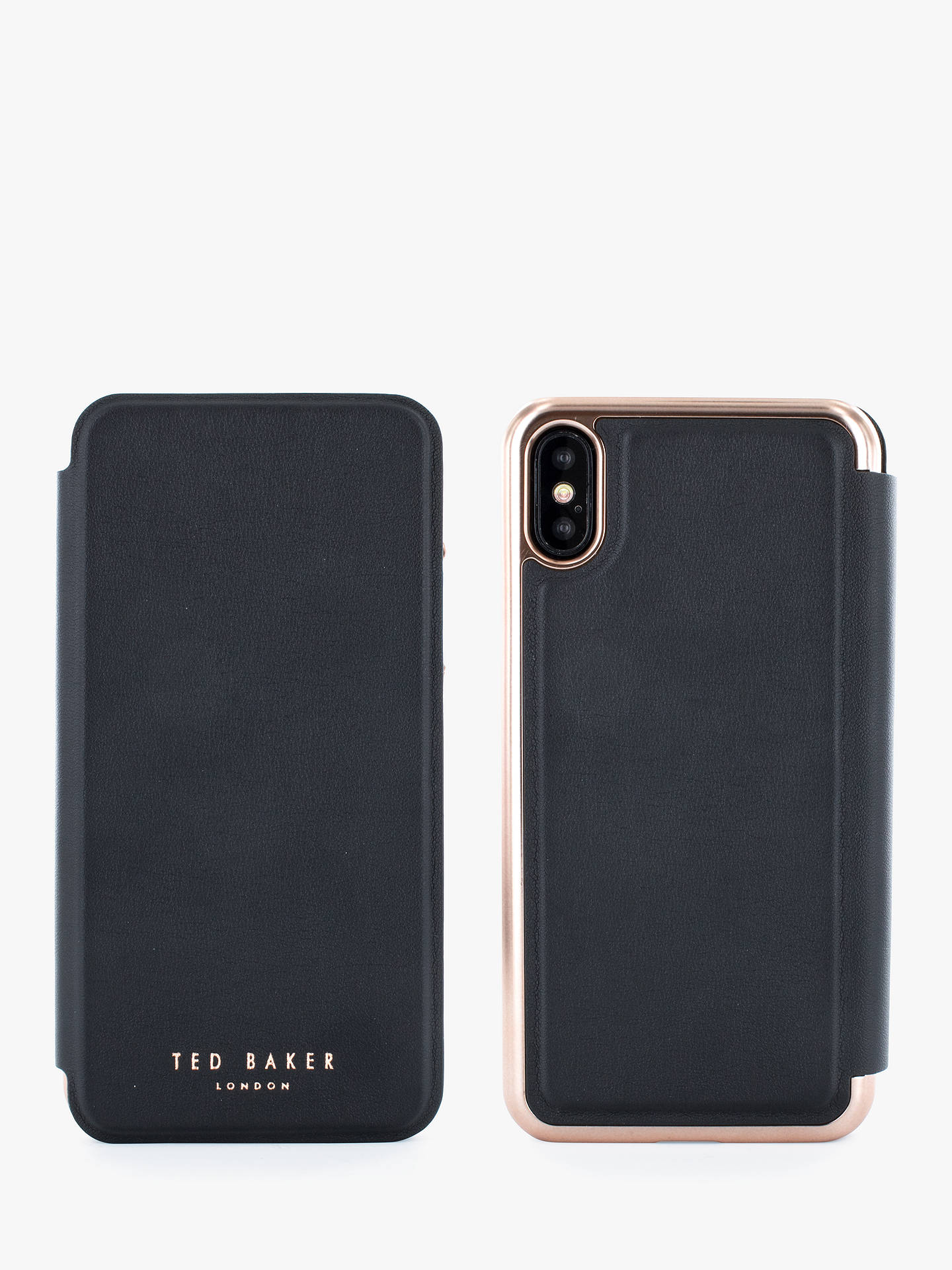best service 8c081 4b53a Ted Baker Shannon Folio Case for iPhone XS