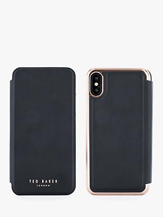 5d17e5359 Ted Baker Shannon Folio Case for iPhone XS