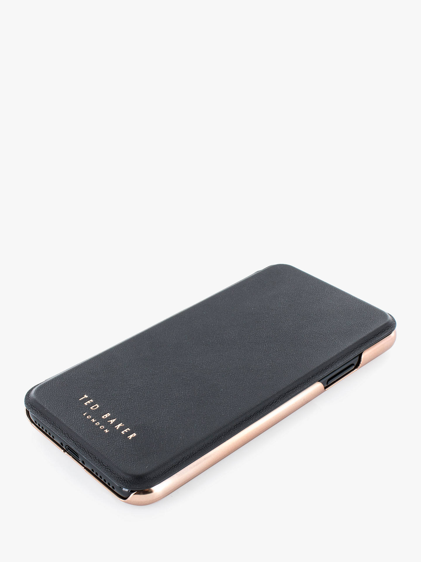 Buy Ted Baker Shannon Folio Case for iPhone XS Online at johnlewis.com