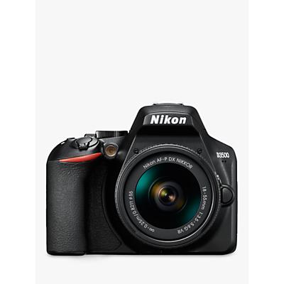 Nikon D3500 Digital SLR Camera with 18-55mm VR Lens, HD 1080p, 24.2MP, Bluetooth, 3 LCD Screen