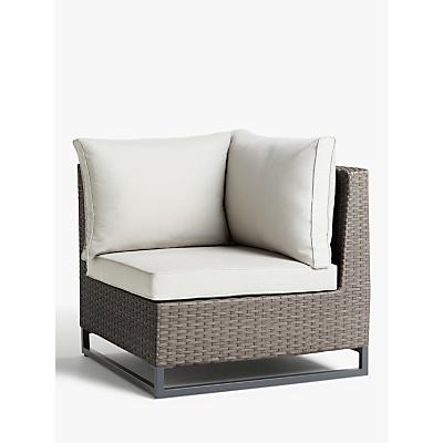 John Lewis & Partners Valencia Garden Corner Modular Chair Unit
