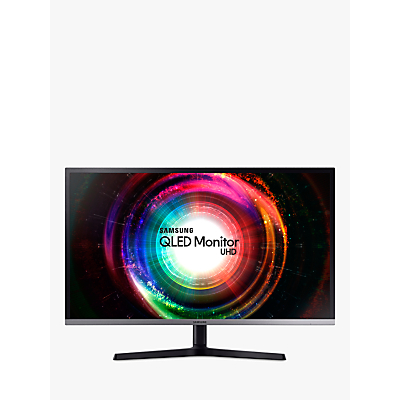Image of Samsung LU32H850UMUXEN4K Ultra HD QLED Monitor, 32, Black