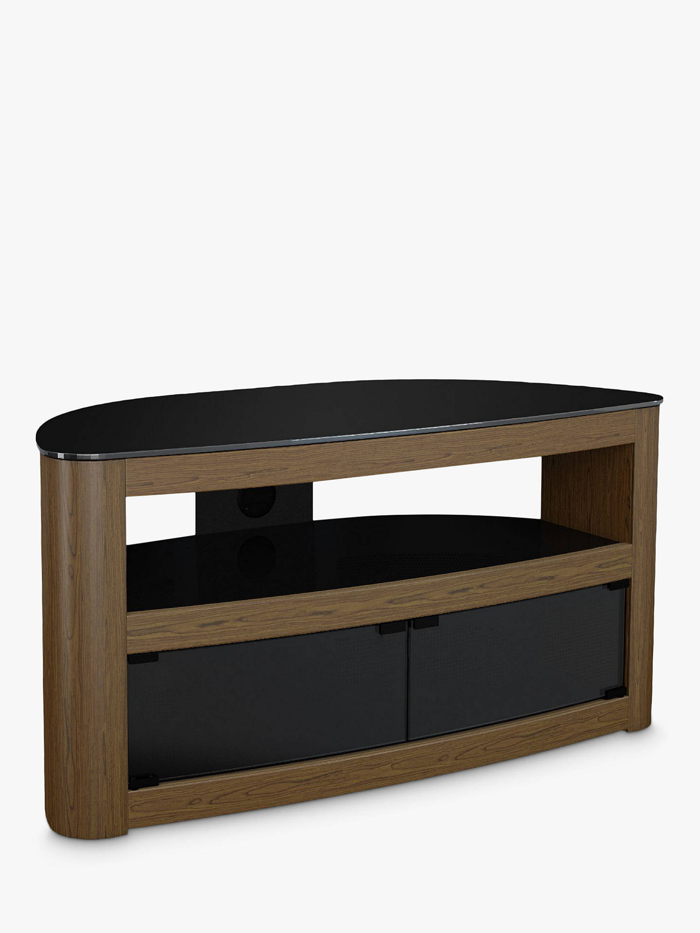 "Buy AVF Affinity Premium Burghley 1000 TV Stand For TVs Up To 50"", Walnut Online at johnlewis.com"