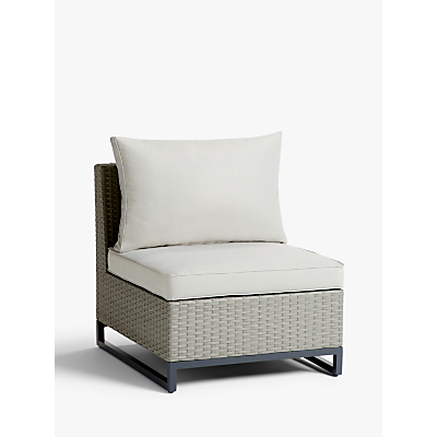 John Lewis & Partners Valencia Garden Modular Middle Chair Unit