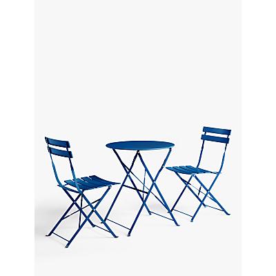 John Lewis & Partners Camden Garden Bistro Table & Chairs Set